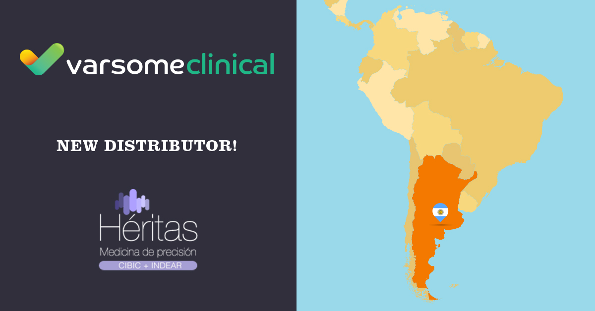 Heritas to distribute VarSome Clinial in Argentina!